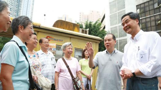 特首梁振英近五年努力有目共睹<br/>The efforts made by Chief Executive CY Leung in near ...