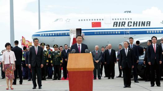 情滿香江 寄語香港<br/>Love & speech to Hong Kong: President Xi's key speech...