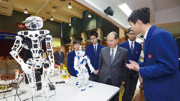 以科創重振香港雄風<br/>Science innovation to revitalize Hong Kong's developm...